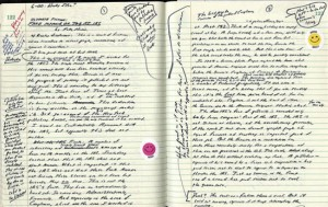 David-Foster-Wallace's-notebook