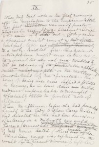 Edith-Wharton's-manuscript-for-The-House-of-Mirth
