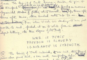George-Orwell's-manuscript-for-1984